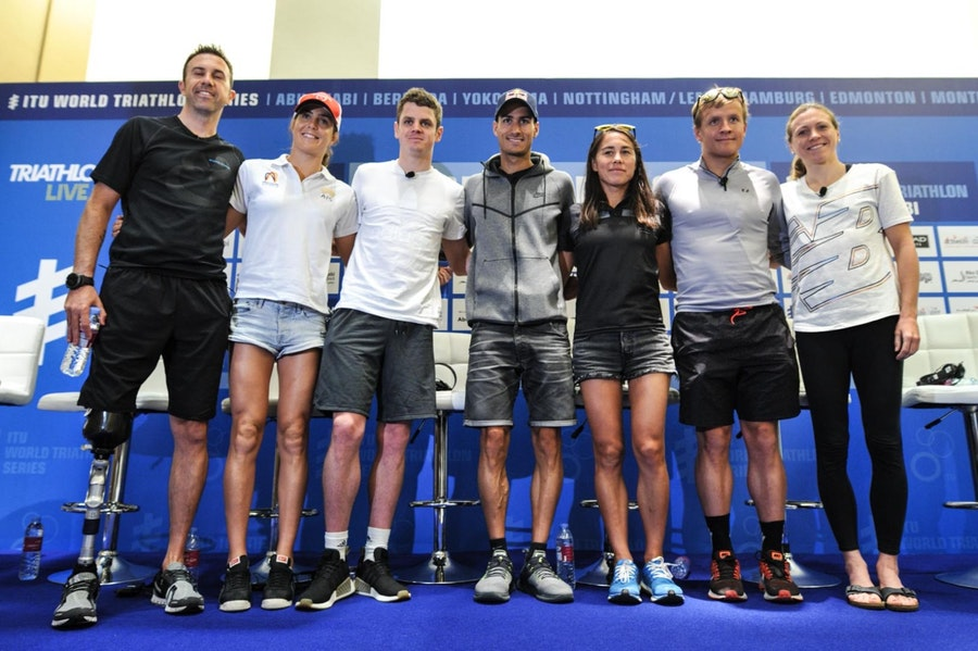 Inicia la ITU World Triathlon Series 2018.